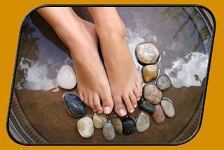 Bioenergetische Bein- und Fußmassagen